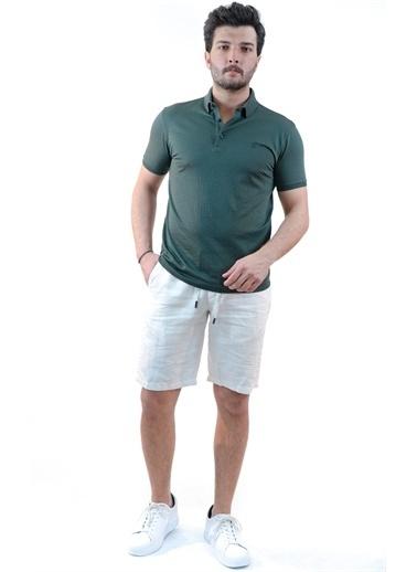 Boris Becker Polo Yaka Slim Fit  T-shirt Yeşil